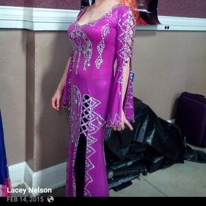 Saudi Belly Dance Dress/costume made in Egypt